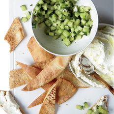 Food & Wine: Whipped Feta with Cucumbers