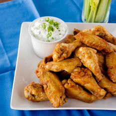 Food & Wine: Baked Buffalo Chicken Wings
