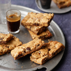Food & Wine: Chocolate-Almond Bars