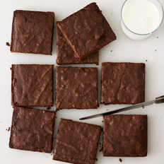 Food & Wine: Fudgy Chocolate Brownies