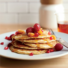Food & Wine: Flax-Coconut Pancakes