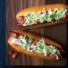 Food & Wine: BLT Hot Dogs with Caraway Remoulade