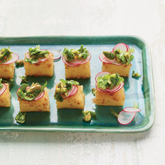 Food & Wine: Crispy Polenta Bites with Arugula Tapenade