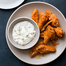 Food & Wine: Chicken Wings with Blue Cheese Dip