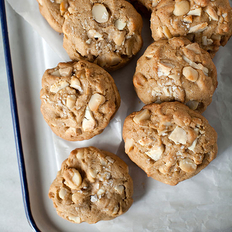 Food & Wine: White Chocolate Chunk Macadamia Cookies