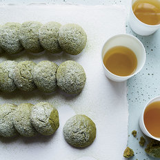 Food & Wine: Matcha Tea Cake Cookies