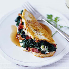 Food & Wine: Chicken Stuffed with Spinach