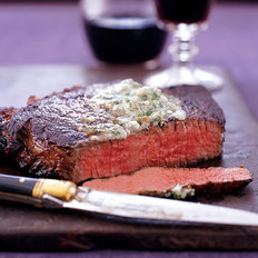 Food & Wine: Smoked Paprika-Rubbed Steaks with Valdeón Butter