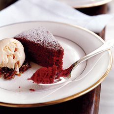 Food & Wine: Red Velvet Cake with Cream Cheese Ice Cream