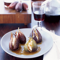 Food & Wine: Goat Cheese-Stuffed Roasted Figs