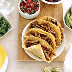 Food & Wine: Soft Pork Tacos with Spicy Black Beans