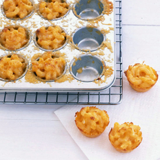Food & Wine: Three-Cheese Mini Macs