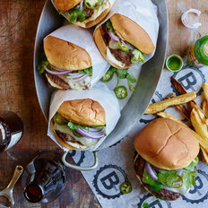Food & Wine: Atomic Chile Jack Cheeseburgers