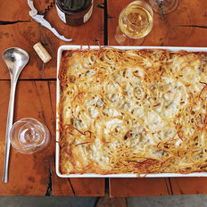 Food & Wine: Baked Four-Cheese Spaghetti