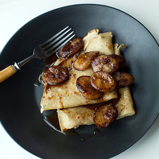 Food & Wine: Crêpes with Spiced Butter Fried Bananas