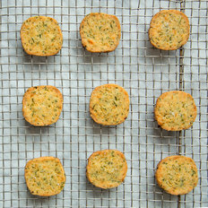 Food & Wine: Cheddar-and-Green Chile Shortbread