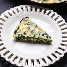 Food & Wine: Crustless Spinach Quiche