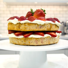 Food & Wine: Fresh Strawberry Cake
