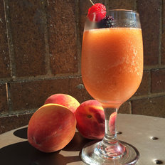 Food & Wine: Frozen Peach Negroni