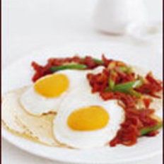 Food & Wine: Huevos Rancheros with Spicy Ham Sofrito