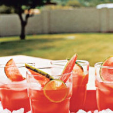 Food & Wine: Watermelon and Ginger Limeade