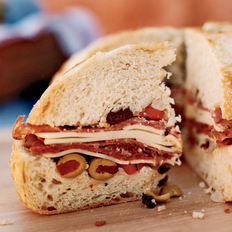 Food & Wine: Emeril's Muffuletta