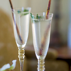 Food & Wine: Champagne Mojitos