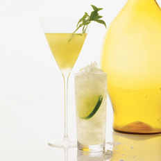 Food & Wine: Lemon & Basil Martini
