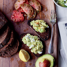Food & Wine: Goat Cheese and Avocado Toasts