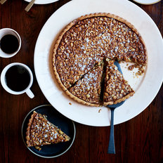 Food & Wine: Hazelnut-Rosemary Caramel Tart