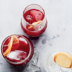 Food & Wine: Hibiscus-Tangerine Iced Tea