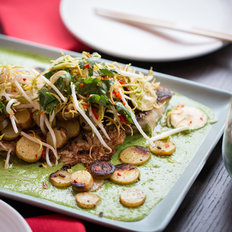 Food & Wine: Green Curry Bass