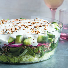 Food & Wine: Middle Eastern Seven-Layer Salad