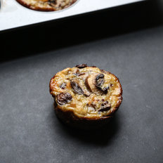 Food & Wine: Mini Crustless Quiche Bites with Mushrooms, Quinoa and Cheddar