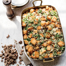 Food & Wine: Mushroom-and-Chestnut Stuffing with Giblets