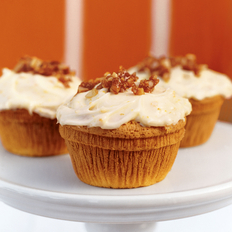 Food & Wine: Orange Cupcakes with Macadamia Nut Crackle