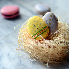 Food & Wine: Pixel Whisk How-To: Easter Macarons