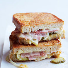 Food & Wine: Inside-Out Grilled Ham-and-Cheese Sandwiches