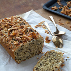 Food & Wine: Triple Coconut-Black Sesame Quick Bread
