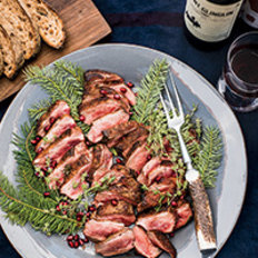Food & Wine: Four-Spice Duck Breasts with Carrots