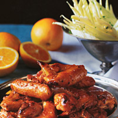 Food & Wine: Orange-Glazed Chicken Wings