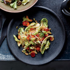 Food & Wine: Quick-Pickled Vegetable Salad with Harissa Vinaigrette