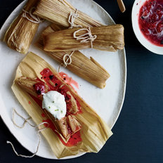 Food & Wine: Burnt Strawberry Tamales