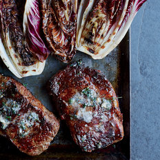 Food & Wine: Rib Eye Steaks with Grilled Radicchio