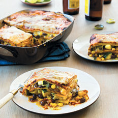 Food & Wine: Late-Summer Vegetable Enchilada Pie