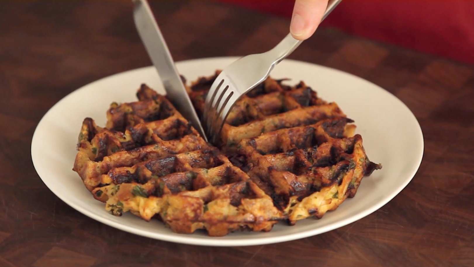 Food & Wine: How to Make Thanksgiving Waffles