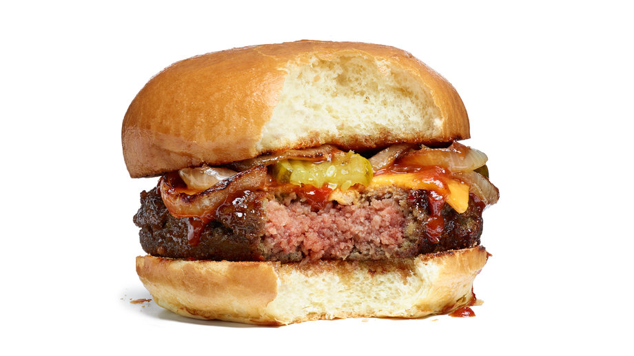 Impossible Foods Cheeseburger