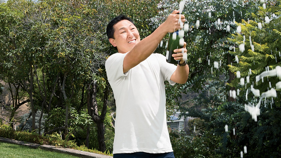 Food & Wine: Chef Sang Yoon Makes a Case for Bubbles