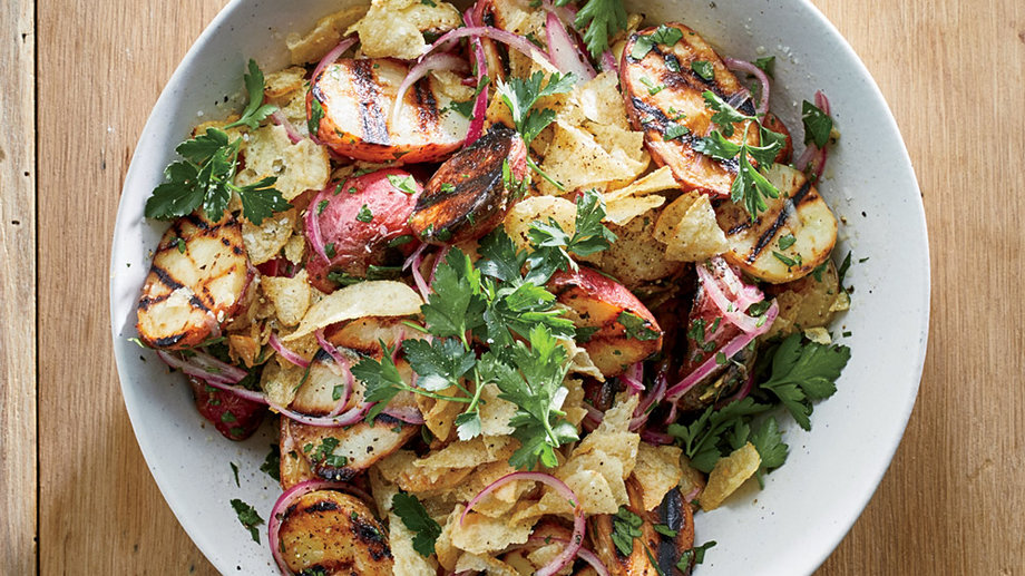 Grilled Baby Potato Salad