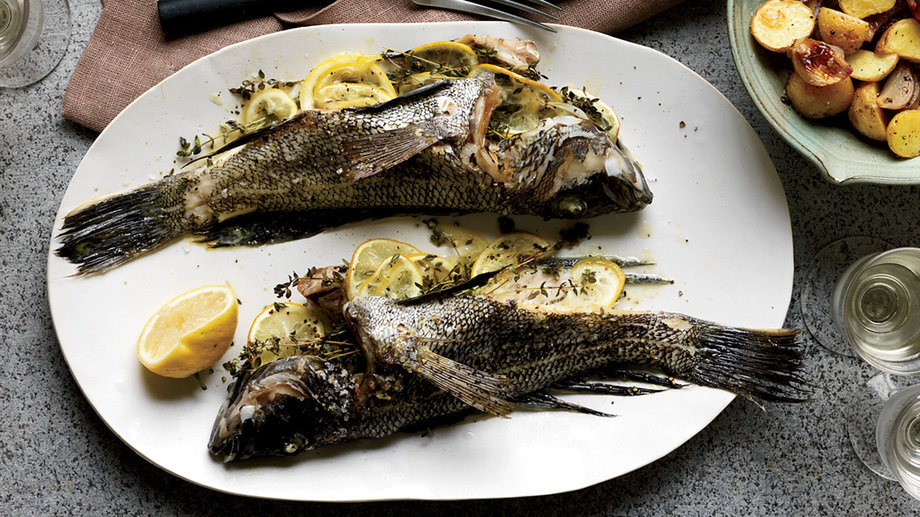 Food & Wine: Whole Fish Recipes
